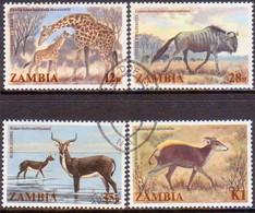 ZAMBIA 1983 SG #388-91 Compl.set Used Wildlife - Zambia (1965-...)