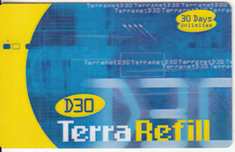 GAMBIA - TerraNet Internet Prepaid Card D30, Used - Gambia
