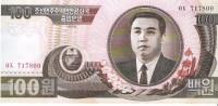 North Korea - Pick 43 - 100 Won 1992 - 1998 - Unc - Corea Del Norte