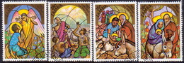 ZAMBIA 1983 SG #396-99 Compl.set Used Christmas - Zambia (1965-...)