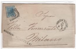 Lettre ITALIE  1873  (b20) - 1861-78 Victor Emmanuel II