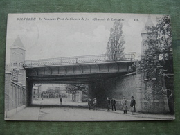 VILVOORDE - LE NOUVEAU PONT DU CHEMIN DE FER 1913 - CHAUSSÉE DE LOUVAIN ( Scan Recto/verso ) - Vilvoorde