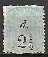 TASMANIE   -    1889  .  Y&T N° 48 * - 1853-1912 Tasmania