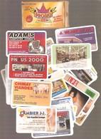 EDITION CHIMAY / BEAUMONT - PROMO BOX - Série De 36 Cartes Fidélité - Réduction - 36 Magasins Ou Services Différents - Advertising