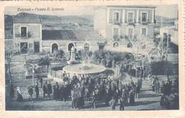 Cotrone-crotone-piazza R.lucente-viagg.1920-animata- - Crotone
