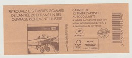 France Carnet N° 851-C7 Neuf, Année 2013 Un Bel Ouvrage Illustré - Carnets