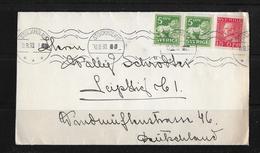 1930 Letter From Stockholm To Leipzig / German - Briefe U. Dokumente