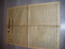 Journal  L'AUTO Le Code De La Route Du 1 Mars 1938 Pub Moto Rene Gillet. Hutchinson.  Bougie MARCHAL. ANTAR .MICHELIN - Autres