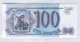 RUSSIA 254 1993 100 Rubles UNC - Russia