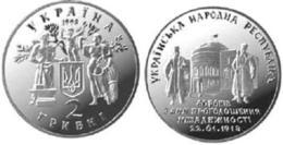 Ukraine - 2 Hryvni 1998 AUNC+ 80 Years Of Declaration Of The UPR Independence Ukr-OP - Ukraine