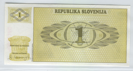 SLOVENIA 1 1990 1 Tolar UNC - Slovénie