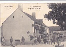 CHEVIGNY FENAY - Au Casse Croûte - Café MONIOT - Bureau De Tabac Et Régie - Andere Gemeenten