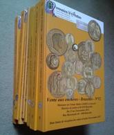 Lot De 8 Catalogues De Numismatique De Monnaies D'Antan - Livres & Logiciels