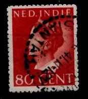 Indes Néerlandaises 1941  Nvph Nr. 284  Koningin Wilhelmina  Oblitérés /Used / Gestempeld - Niederländisch-Indien