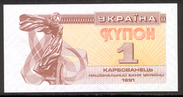UKRAINE 81 1991 1 Karbovanet UNC - Ukraine