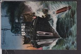 Torpedoschuss , Schiff - Guerra 1914-18