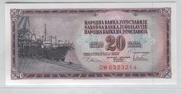 YUGOSLAVIA 88a 1978 20 Dinara UNC - Yugoslavia