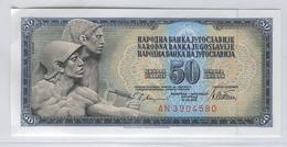 YUGOSLAVIA 89a 1978 50 Dinara UNC - Yugoslavia
