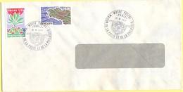 FRANCIA - France - 1977 - 1,50 Martinique + 2,40 Bretagne - Cachet Special Musée Postal - Viaggiata Da Paris - Cartas