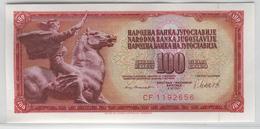 YUGOSLAVIA 90b 1981 100 Dinara UNC - Yugoslavia