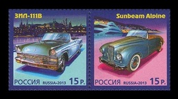 Russia 2013 Mih. 2000/01 History Of Automobile Production (joint Issue Russia-Monaco) MNH ** - Unused Stamps