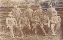 AK Gruppe Deutsche Soldaten - 1. WK (34773) - Guerra 1914-18