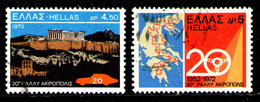 GREECE 1972 - Set Used - Greece