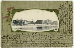 Oppeln Oderpartie, Opole, Alte Ansichtskarte 1905 - Polen