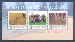 H31- Norfolk Island 2004. 25 Years Of Service On Norfolk Island. - Norfolk Island