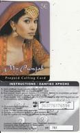 GREECE - Girl, My Punjab, Amimex Prepaid Card 5 Euro, Small CN : 3 Digits, Tirage 500, Used - Greece