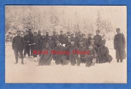 CPA Photo - Front à Situer - Décembre 1917 - Fraterniation Entre Allemand Et Russe ? - Voir Uniforme WW1 Poilu Soldat - Guerra 1914-18