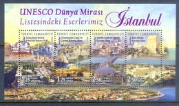 H35- Turkey Our Works UNESCO World Heritage  (ISTANBUL) Sultan Ahmed ( Blue ) Suleymaniye Mosque. - Turkey
