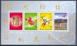 H37- New Zealand 2016. The Year Of The Monkey. - Chinese New Year
