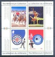 H39- Canada 1999-2000 Millennium Hockey Night Sports Ice Hockey. - Hockey (Ice)