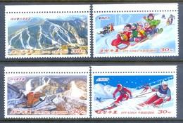 H45- Korea 2014 Marshill Ski Resort. Mountains. - Korea, North