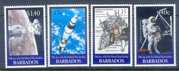 H53- Barbados 1999. 30th Anniversary Of 1st Moon Landing. - Space