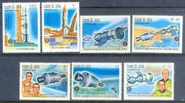 H55- Laos 1985 Space. - Space