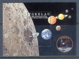 H57- Tokelau 1999. 30th Anniversary Of 1st Moon Landing. - Space