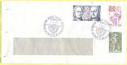 FRANCIA - France - 1976 - 1,20 Vergennes-Franklin + 2,00 Ussel + 0,70 Forêt De Tronçais - Cachet Special Musée Postal - - Cartas
