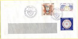 FRANCIA - France - 1976 - 0,80 Europa Cept + 1,00 Officiers De Réserve De L'Armée De Mer + 1,20 Europa Cept - Cachet Spe - Cartas