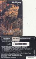 GREECE - Greece/Meteora, Holiday By Amimex Prepaid Card 3 Euro(807 8075), Tirage %5000, 07/03, Used - Greece