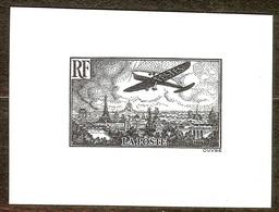 SUPERBE EPREUVE TAILLE DOUCE POSTE AERIENNE N°14 NEUF Sans GOMME PAS D'AMINCI - 1927-1959 Mint/hinged