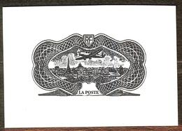 SUPERBE EPREUVE TAILLE DOUCE POSTE AERIENNE N°15 NEUF Sans GOMME PAS D'AMINCI - 1927-1959 Mint/hinged