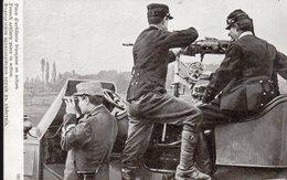 CPA 1915 - BATTERIE FRANCAISE EN POSITION - - Guerra 1914-18