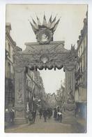 CPA Animée Carte Photo Dieppe Millerand Président 27 Juillet 1921 - Dieppe