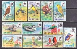 LESOTHO  321-32   **  BIRDS - Climbing Birds