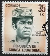 GUINEA ECUATORIAL 1980 National Heroes. USADO - USED. - Guinea Ecuatorial