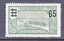 GUADELOUPE  87  * - Unused Stamps