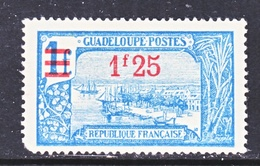 GUADELOUPE  91    * - Unused Stamps