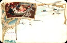 Biscuit Sailor Olibet, Salle à Manger Bateau - Publicité